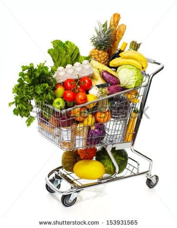 full-shopping-grocery-cart