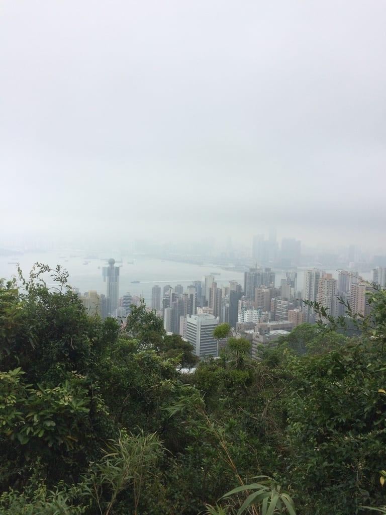 HongKongfromVictoriaPeak